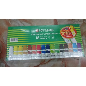 Sakura Mat Watercolors – 18 colors